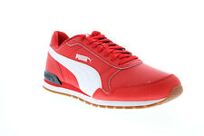 Puma ST Runner V2 Full 36527718 Mens Red Lace Up Lifestyle Sneakers Shoes 10