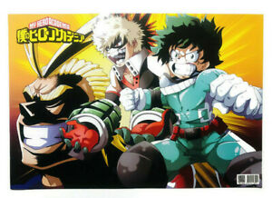 """My Hero Academia Anime Characters 11 1/2"""" x 17"""" Poster Pictures for Wall Decor"""