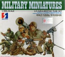 Ww Ii U.s. Pistola Y Mortero Equipo (W/m2 Mortero, Browning M. 1917, etc.) 1/35 seminario
