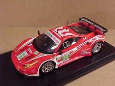 Fujimi 1/43 Resin Ferrari 458 Italia GT2, 2012 LeMans, Luxury Racing #FJM1343002