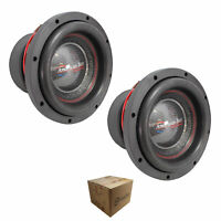 """x2 American Bass Competition Subwoofer 10"""" 6000 Watts Dual 4 Ohm Hawk 1044"""