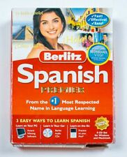 Berlitz Spanish Premier Language Learning Windows Mac 8 Cd Rom Set