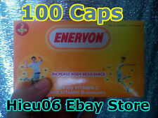1 box Enervon increase body resistance vitamin C B-complex tang de khang