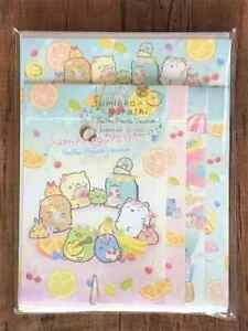 San-X  Sumikko Gurashi Letter Sheet Envelope Set Stationery Japanese  4sets Fl