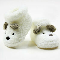 Cute Newborn Baby Boy Girls Socks Unisex Infant Cute Bear Crib Warm Shoes SocLHM