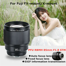 For Fuji FX-mount/X-moun VILTROX 85mm F1.8 STM AF Lens Portrait Fixed Focus Lens