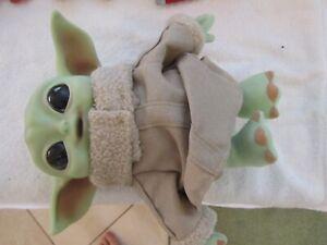 "Star Wars Mandalorian The Child 11"" Plush Baby Yoda Doll by Mattel"