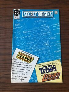 Secret Origins 46 (12/89) VF 1st TDK Arm Fall-Off Boy! Suicide Squad 2 Movie!