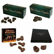 Edible After Dinner Chocolate Nipples Willies Adult Party Novelty Fun Xmas Gift