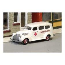 """HO SCALE: 1941-47 CHEVROLET """"AMBULANCE"""" - Sylvan - Kit #V-204"""