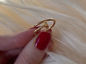 Cartier Juste Un Clou Yellow Gold Nail Narrow Small Ring 8