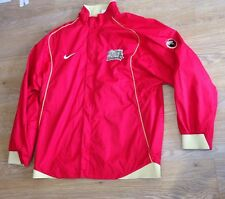 CHINA BASKETBALL JACKET MENS XL NIKE TRACK ZIP UP NECK TRAINING TOP RED RARE