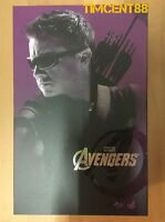 Ready! Hot Toys MMS172 The Avengers Hawkeye Jeremy Renner 1/6 Figure New
