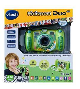 vtech Kidizoom Duo 5.0 grün Kinder Digitalkamera 5MP Vorderkamera Rückkamera NEU