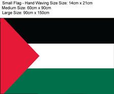 More details for palestine flag gaza palestinian festival small medium large - wristband badge