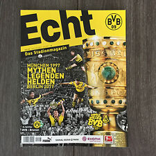 BVB@BORUSSIA DORTMUND@Stadionmagazin ECHT@Heft Nr. 127@BVB-Bremen@Saison 2016/17