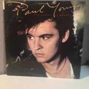 "PAUL YOUNG - The Secret Of Association - 12"" Vinyl Record LP - VG+"