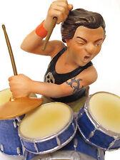 Big Bang nastro * batterista * percussioni musicisti scultura personaggio 20503