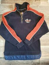 Vintage Mens Snowmobile Ski Doo Racing Fleece Sno Gear Med