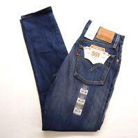 New Levi's Womens 501 3269 Skinny Stretch Ankle Denim Jeans Sz 25 x 30