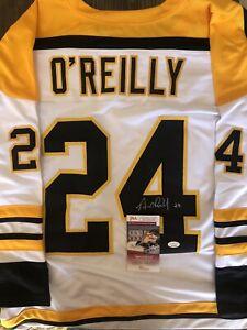 Terry O'Reilly Signed Jersey (JSA COA)