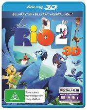 Rio 2 3D : NEW 3-D Blu-Ray + 2D Blu-Ray