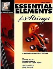 Essential Elements for Strings: Cello Book 1 with EEi