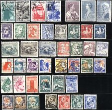 NETHERLANDS Scott# B33-B76 SEMI-POSTAL Stamps Postage Collection 1928-1934 USED