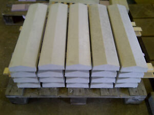 """Coping stones, (5.5"""") 140mm x 600mm Twice weathered, various colours - Delivery"""