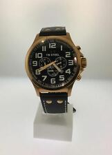 TW Steel Pilot Chronograph Rose Gold PVD Watch TW419