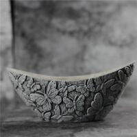 Nicole Handmade Owl Shape Gardon Pot Molds Silicone Concrete Molds Vase Molds