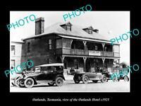 OLD LARGE HISTORIC PHOTO OF OATLANDS TASMANIA, VIEW OF THE OATLANDS HOTEL c1925