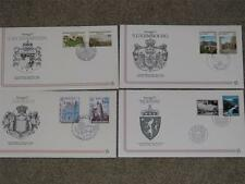 Europa FDC`s, 11 different with description cards