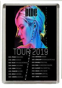 Dido - Still On My Mind Tour - 2019 -  Fridge Magnet - Jumbo 90mm x 60mm Size