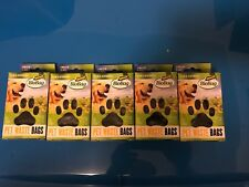 New Lot Of 5 Biobag Petwaste Bags 45 Each Box Total Of 225 Biodegradable