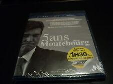 "COFFRET BLU-RAY + DVD NEUF ""5 ANS AVEC ARNAUD MONTEBOURG"""