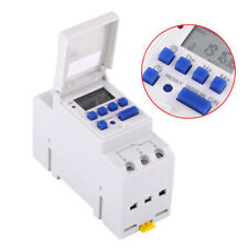 Programmable 16A - 20A Switchboard Digital LCD Electrical Timer 24 Hour 110/220V