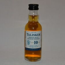 Talisker 10 years single malt scotch whisky 45,8% 50ml Mini collectors bottle