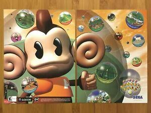 Super Monkey Ball 2 Nintendo Gamecube 2002 Vintage Print Ad/Poster Official Art