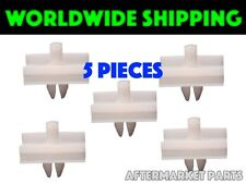 BMW E34 Door Molding Clamps 5 Pieces New