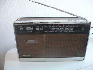 PHILIPS RR 322 Radiorecorder Jahr 1971 Rec. defekt trotz neuer Riemen Test lesen