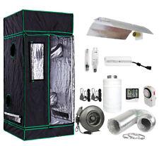 Grow Tent Light Kit w/ 400w 600w Watt Ballast Hps Mh Reflector Fan Carbon Filter