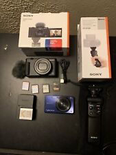 Sony Cyber-shot ZV-1 20.1MP Compact Digital Vlog Camera and accessories