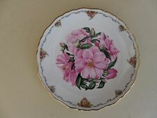 """Royal Albert Bone China Plate Queen Mothers Favourite Flowers Series """"Camellia"""""""