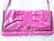 CUTE SUZIE SMITH PINK PATENT BAG IN EXCELLENT CONDITION!