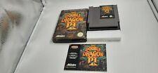 Jeu Nintendo NES Double Dragon III 3 the sacred stones complet