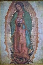 "Virgen de Guadalupe Poster 24"" x 36"" Blessed Virgin Mary"