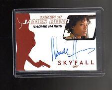 James Bond Archives Final Edition WA54 Naomie Harris  Autographed card #2