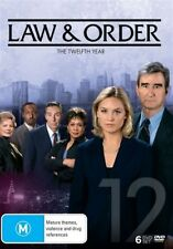Law And Order : Season 12 (DVD, 2016, 6-Disc Set) BRAND NEW REGION 4