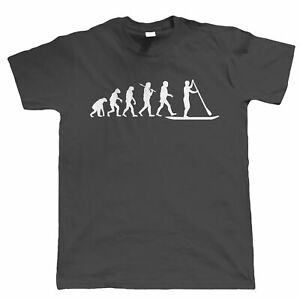 Massive Stock Clearance, Evolution Of Paddle Boarding, Mens Funny T Shirt